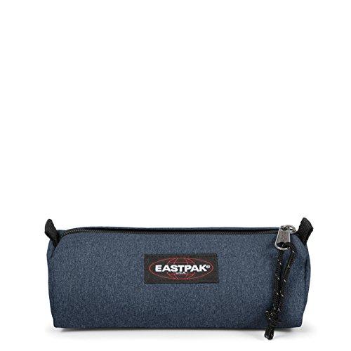 Eastpak Benchmark Single Astuccio, 21 cm, Blu (Double Denim)