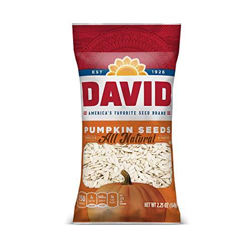 DAVID SEEDS Roasted and Salted Pump…