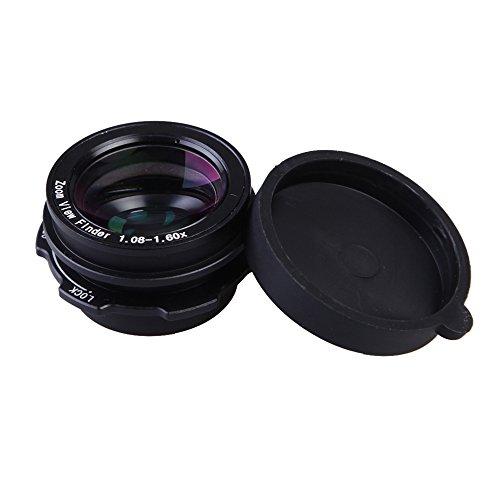 Andoer 1,08 X-1,60 x Zoom Okular Sucherlupe Kompatibel mit Canon Nikon Pentax Sony Olympus Fujifilm Samsung Sigma Minoltaz SLR-Kamera