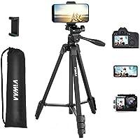 ViWAA Aluminum Lightweight 55 Inch Tripod for Camera
