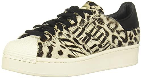adidas Superstar Bold W, Sneaker Donna, Core Black/off White/Gold Metallic, 36 2/3 EU