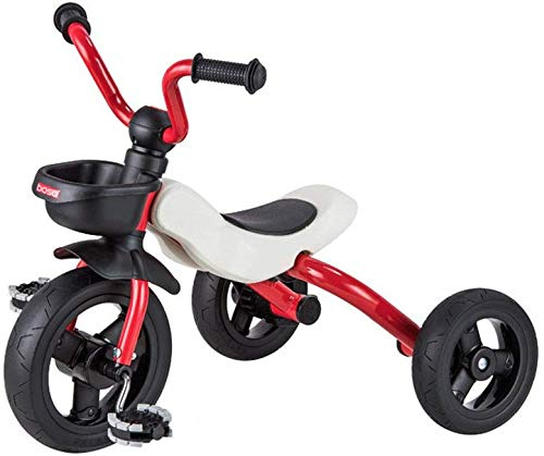 FEE-ZC Triciclo Universale per Bambini con bilanciere Pieghevole a Pedali per Bambini Bicicletta di 2-5 Anni