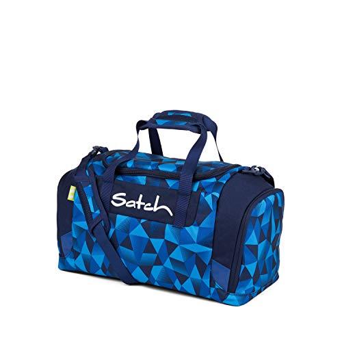 Satch Sporttasche Blue Crush, 25l, Schuhfach, gepolsterte Schultergurte, Blau