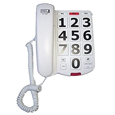 Future Call FC-1507 Big Button Phone with 40db Handset Volume