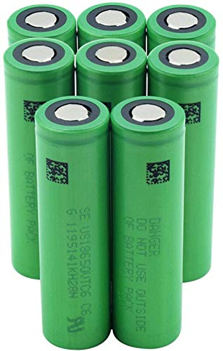Green Us18650vtc6 3000mah Vtc6 3.7v 18650 Lithium Li-ion Battery Power Bank Headlight Bateria Replacement-8pieces