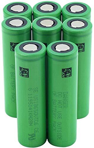 Green Us18650vtc6 3000mah Vtc6 3.7v 18650 Batería de Iones de Litio de Litio Banco de energía Reemplazo de la batería del Faro-8 Piezas