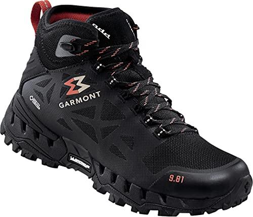 GARMONT 9.81 N Air G 2.0 Mid GTX Schuhe Damen Shaded/crimson Schuhgröße UK 7,5   EU 41,5 2021 thumbnail