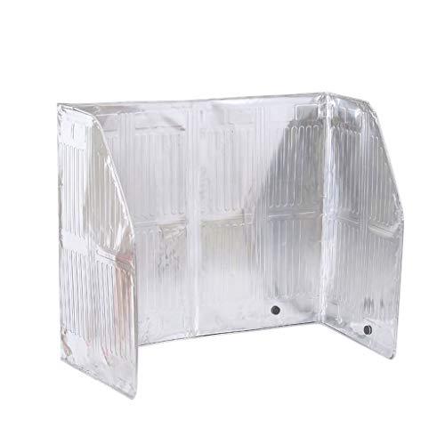 Protector Salpicaduras Lucha contra la salpicadura de escudo protector de cocina Aceite de cocina a prueba de deflector de aceite Gas prueba de aceite del papel de aluminio a prueba de aceite de cartó