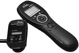 Pixel TW-282/N3 - Disparador Remoto inalámbrico con Temporizador y Conector N3 para cámara réflex Digital Canon Negro