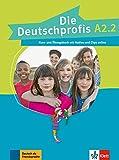 Die deutschprofis a2.2, libro del alumno y libro de ejercicios con audio y clips online: Kurs- und Ubungsbuch A2.2 + Audios und Clips o