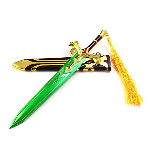 LINLUO Game 1/5 Scale Metal King Arthur Sheathed Sword Keybuckle Model Be Used for Action Figure Arts Toys Collection Gift