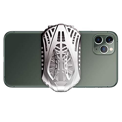 IVSO Handy USB Kühler, Telefonkühler, Cooling Handy Heizkörper Universal Handy USB wiederaufladbar Kühler Cooling Fan Game Pad Halter Ständer Bank Radiator Mute Fan Gamepad-Kühlkörper Wärmeableitung