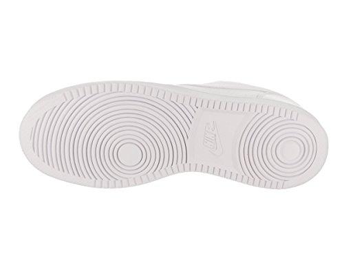 Nike Court Borough Low, Zapatillas de Baloncesto para Hombre, Blanco (Blanco), 42 1/2