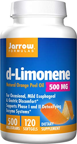 Jarrow Formulas Suplemento Dietético de Aceite de Piel de Naranja 'd-Limonene' (500mg/c) - 120 Cápsulas
