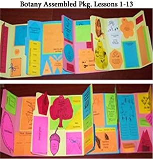 Exploring Creation w/ Botany Package Lessons 1-13 Lapbook - ASSEMBLED