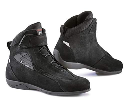TCX Lady Sport - Botas de Moto (Talla 41), Color Negro