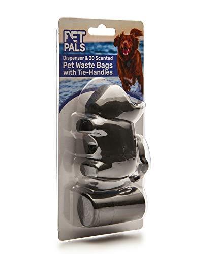 Pet Pals Tie Handvat Extra Sterke Hond Poe Afval Tassen met dispenser (30 zakken)
