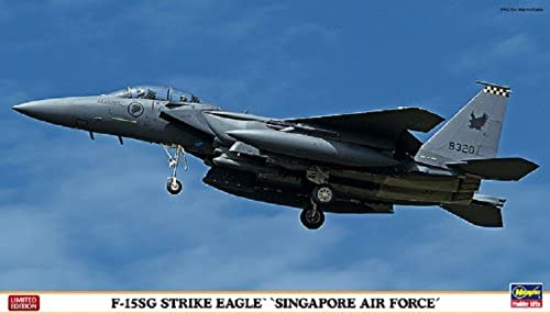 1 72 F-15SG Strike Eagle Singapore Air Force (02092)