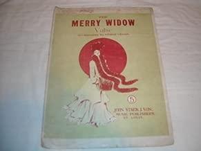 THE MERRY WIDOW VALSE FRANZ LEHAR SHEET MUSIC SHEET MUSIC 228