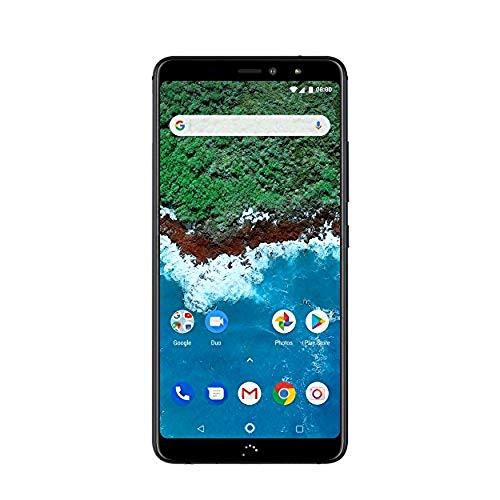 BQ Aquaris X2 Pro Smartphone midnight black (5,65 Zoll FHD+, Qualcomm Snapdragon 660, 64 GB + 4 GB RAM, 12 MP + 5 MP Dual-Kamera, NFC, Fingerabdrucksensor, USB-C, Quick Charge 4+, Android 8.1.0 Oreo)