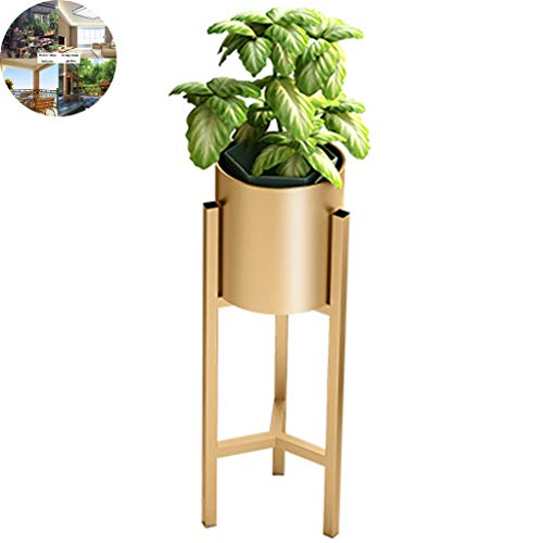 Étagère à Fleurs,Stand de fleurs Support À Fleurs En Fer Forgé Pour Salon Nordique, Support De Plante Pour Pot De Fleur De Balcon Au Sol, Support Simple D'orchidée Suspendu, Décorations Pour La Maison