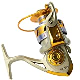Dosige Angelrolle Rolle Stationrrolle Spinning Reel Vollmetall Aluminium Spinnrolle