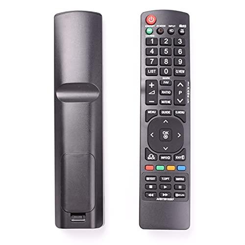 MJJCY Applica a AKB72915207. Telecomando per LG. Inteligente TV 55LD520 19LD350 19LD350UB 19LE5300 22LD350, LCD LED TV Controller. Sostituisci Il Telecomando (Color : AKB71925207)