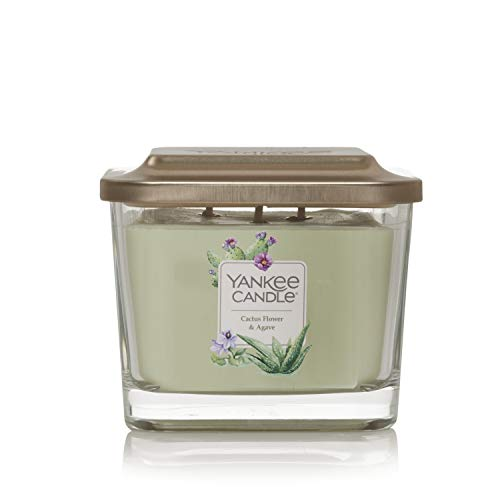 Yankee Candle Elevation Collection Lid Candle, Light Green