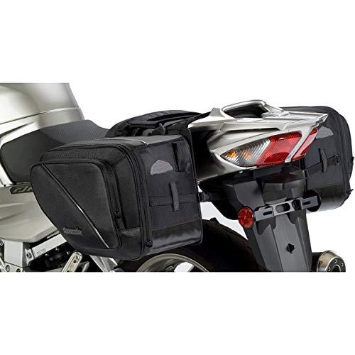 Tour master 8261-150540 Black Elite Motorcycle Saddlebag