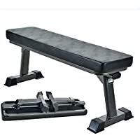 Finer Form Gym Quality Foldable Flat Bench