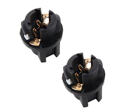 TecnoStore® - 2portalámparas de rosca T10W5W para bombillas LED