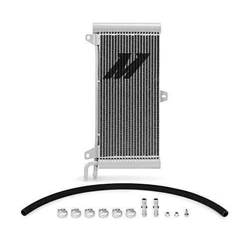 Mishimoto MMTC-RAM-94SL Transmission Cooler Compatible With Dodge Ram Cummins 5.9L 1994-2002 Silver