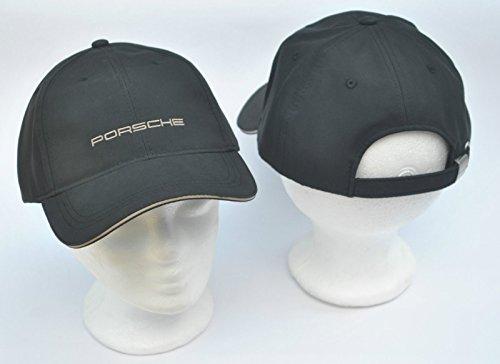 Porsche Cap Mütze Classic schwarz mit Porsche Schriftzug
