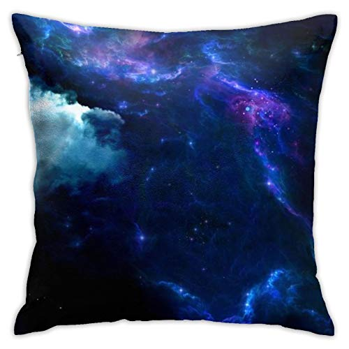HPOFKEOEF Fantasy Star Galaxy Economical Family Back Cushion Office Sofa Decoration Pillow Cushion Without Pillow 18x18 Inch