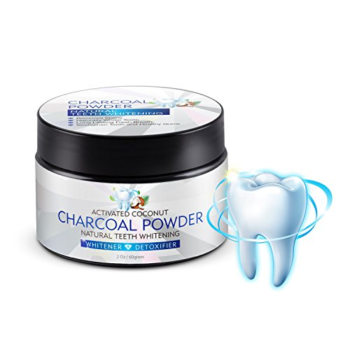 Teeth Whitening Charcoal Powder, Activated Charcoal Natural Teeth...
