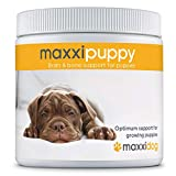 maxxidog – maxxipuppy Integratore per Il Cervello e Le Ossa dei Cuccioli – dà al Tuo Cucciolo la Giusta Carica Vitale – per Cani Giovani – Supporta Le Prime Fasi dello Sviluppo – Polvere 180 g