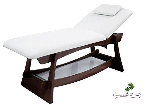 Table de massage bois wenge fixe flora