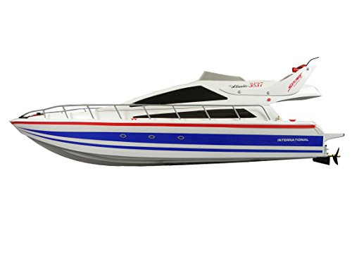 Amewi 26005 Atlantic L 73cm R/C Speedboot Yacht Atlantik inkl. Fernbedienung