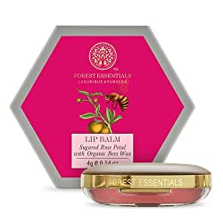 Forest Essentials Luscious Sugared Rose Petal Lip Balm - Curiouskeeda