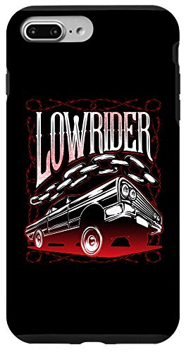 iPhone 7 Plus/8 Plus Lowrider Car Guy Gifts Classic Old School Low Rider Phone Case