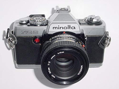 MINOLTA XG2 SLR de cámara de cine