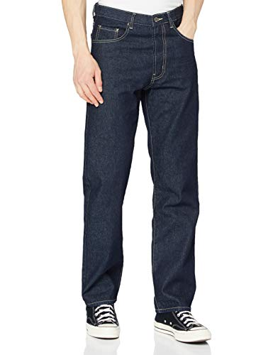 Enzo Herren BCB3 Straight Jeans, Blau (Indigo Wash Blue), 44W / 30L