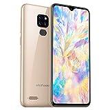 Ulefone Note 7P 32GB Speicher 4G Smartphone - 15,49cm 6,1 Zoll Handy FHD+ Bildschirm, 3GB RAM, Dual-SIM, Android 9.0, Fingerabdrucksensor, OTG - Gold