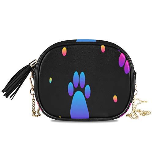 Abstract Rainbow Seamless Modern Swatch Bolsos de hombro para mujer de noche para mujer Bolso de fiesta formal para mujer Bolso bandolera pequeño Monedero para teléfono celular Cartera Decoración par