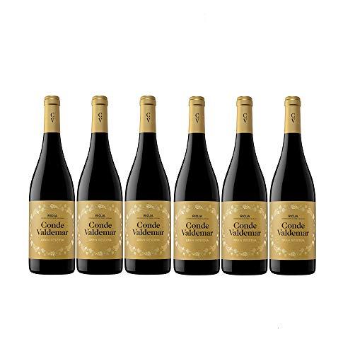 Conde Valdemar Gran Reserva Rioja DOCa Rotwein veganer Wein trocken Spanien (6 Flaschen)