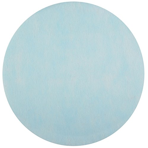 Santex Set de Table Rond Bleu Ciel (x50) REF/2812