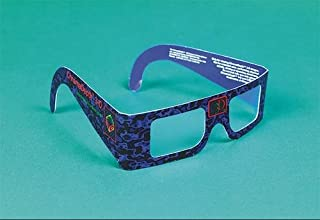 Chromadepth 3-D Glasses (Pack of 12)