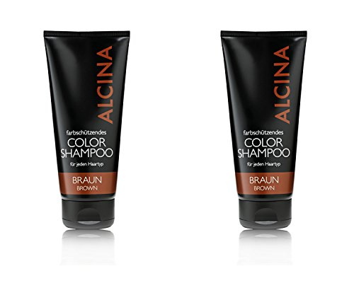 Alcina Color Shampoo Braun 200ml 2x