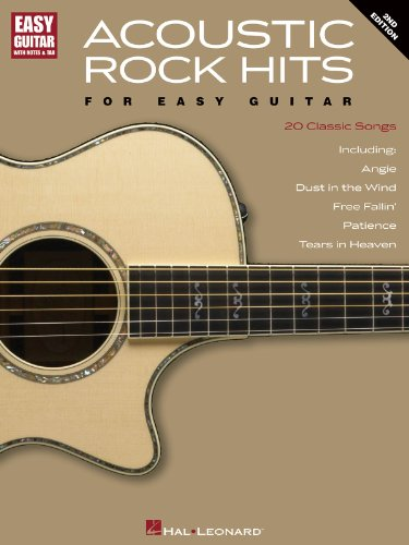 Acoustic Rock Hits for Easy Guitar - 2nd Edition - Notes and Tab