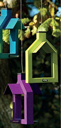 Futterstation Alicante Vogelhaus zum Aufhängen – lindgrün - 6